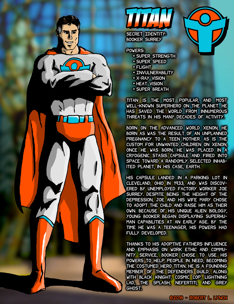 3 – Titan Character Profile